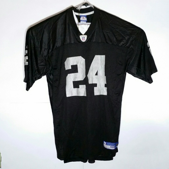 c6e32460 Oakland Raiders Woodson #24 Football Jersey RBK